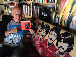 Rolando Giambelli, presidente dei Beatlesiani d'Italia Associati