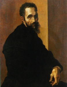 ritratto di Michelangelo di Jacopino del Conte