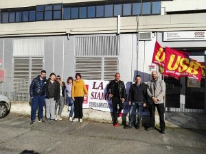 2 occupazione usb roma