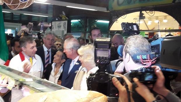 Carlo e Camilla incontrano Papa Francesco in Vaticano