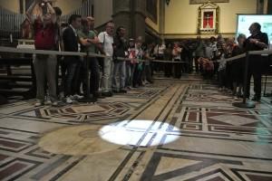 gnomone del Duomo di Firenze (1 m)
