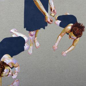 Crumbs, acrilic on canvas, 50 x 50 cm. 2014