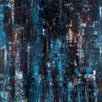 Darkness over Berlin by Hans Degner,  2011 Copenhagen 1,5m x 1m