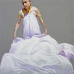 Dust, acrylic on canvas, 50 x 50 cm. 2014