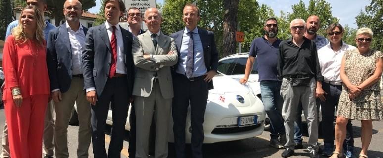 Firenze Smart City 2 con tassisti elettrici