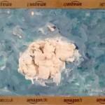 L'isola delle Amazoni, 2017. Gesso e tempera acrilica su cartone.