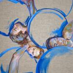 Melancholia_acrylic on linen canvas_150x100_2015