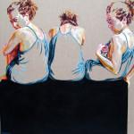 Orgulho, acrilico, 86 x 99 cm, 2015