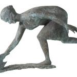 Donna-che-rincorre-una-gallina-bronzo-1960