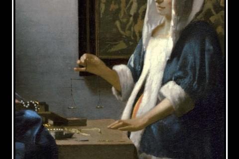 Jan Vermeer, Donna con una bilancia (La pesatrice di perle), 1662-65, National Gallery of Art, Washington D. C.