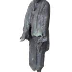 Mendicante-sotto-la-pioggia-1964-bronzo