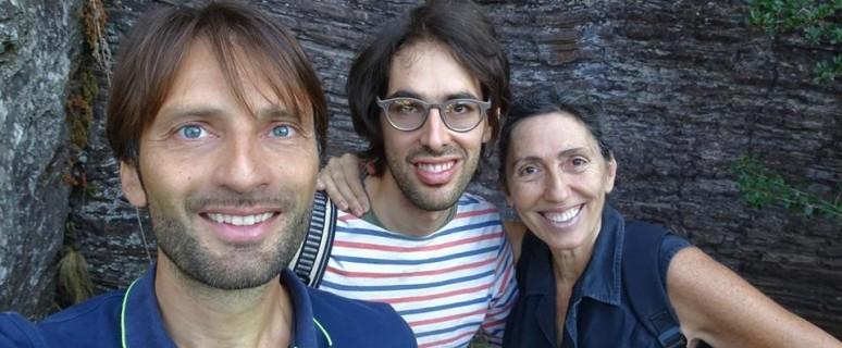 da sinistra - Emiliano Rabazzi, Sem Scaramucci, e Adriana Moroni