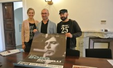 Da sn, Claudia Mantellassi, Francesco Belais e Mimmo Rosa