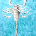 Heterometrus-spinifer-2015-olio-su-tela