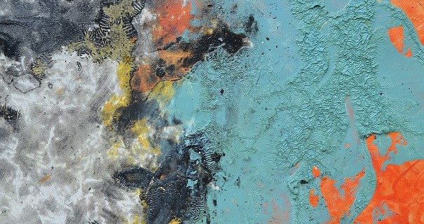 Massimiliano Luchetti, n. 58, dettaglio, 2016, olio su tela, 220x215 cm