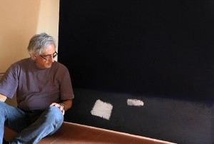 foto Raffaello Lucci, uno dei vincitori della sezione pittura