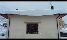Neve, intervento della Protezione Civile di Firenze