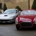 Ferrari storiche in esposizione