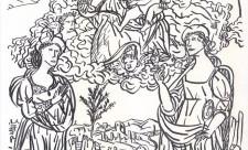 Interpretazione da Giuliano Presciutti. Madonna con Bambino