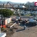 Giro in drone sui cantieri della tramvia di Firenze