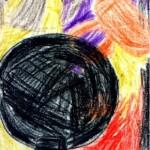 1972, mongolfier, 21x29 cm.