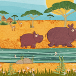 2015, Little Hippo Scene. 01