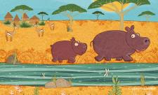 2015, Little Hippo Scene. 01