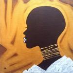 2018, Africana profile donna. n.12