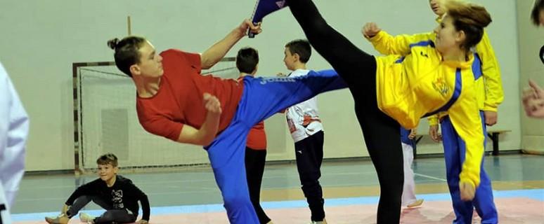 Centro Taekwondo Arezzo - Allenamenti 2018 (3)