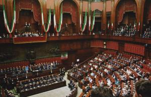 Parlamento for Composizione del parlamento italiano