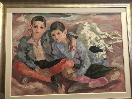 Antonio Peppino e il cane Barone