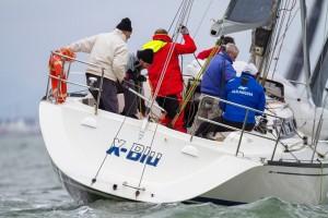 X Blu in regata - foto Marco Trainotti