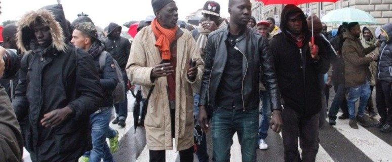 corteo senegalesi