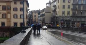 firenze pioggia