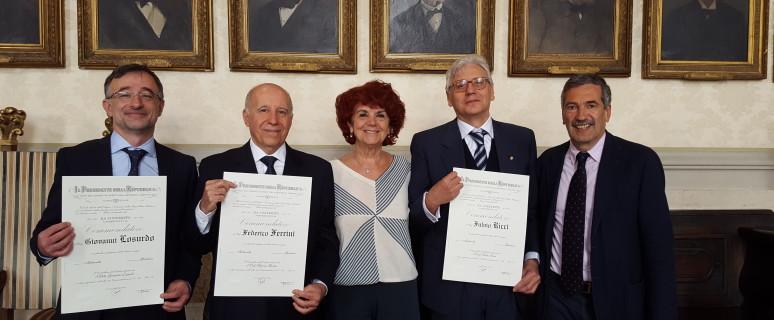 Onorificenze INFN