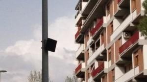 telecamera in alto via pacini