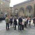 turisti in piazza signoria
