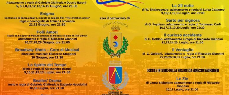 Manifesto Intrecci Metropolitani d'Estate 2018