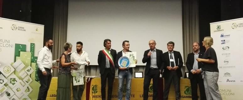 Premiazione Comuni Ricicloni