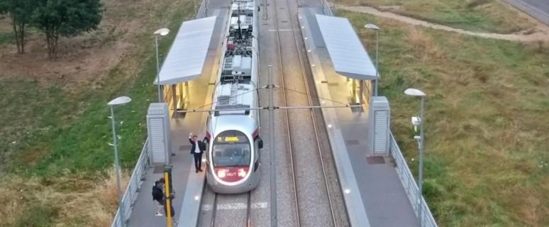 L'occhio del drone sulla nuova linea T1 della tramvia fiorentina