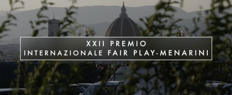Premio Fair Play Menarini 2018