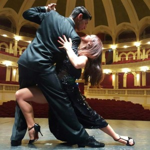 Celeste Rey e Sebastian Nieva