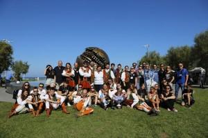 """Sbandieratori e Musici Città di Lucca """"Contrada Sant'Anna'' MIGLIORE COMPAGNIA D'ITALIA alla 37esima Parata nazionale della Bandiera (2)"""