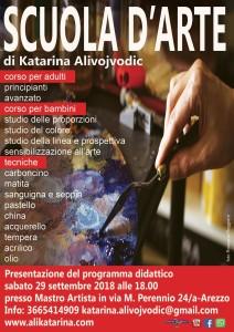locandina Scuola Katarina Alivojvodic