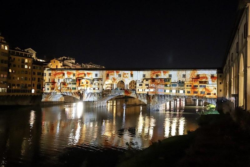 Firenze si accende con il light festival stamptoscana