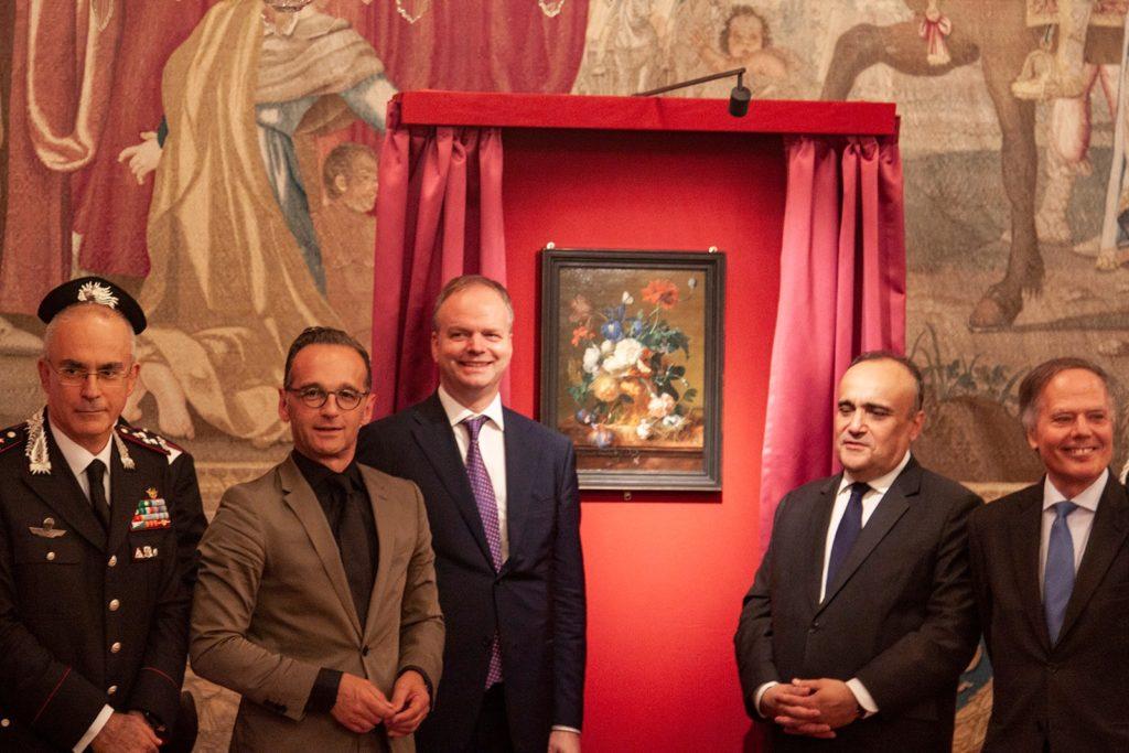 Il Vaso di Fiori torna a Firenze, Bonisoli giornata storica