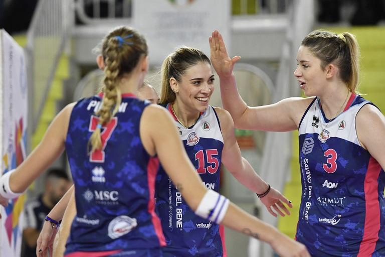 Volley: Scandicci doma Il Bisonte davanti a 1500 spettatori - StampToscana